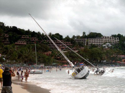 Phuket King's Cup yachts still stranded | The Thaiger