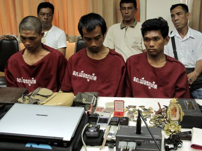 Thieving meth-heads arrested in Phuket | The Thaiger