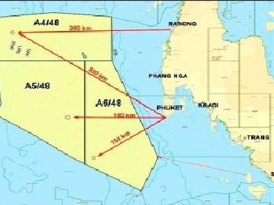 Petroleum exploration underway off Phuket | The Thaiger
