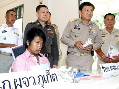Phuket meth mule reined in with B800k stash   The Thaiger