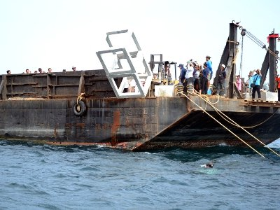 Artificial reefs sunk off Phuket's west coast | The Thaiger