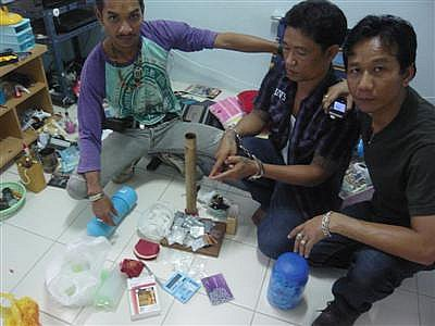 Double down: Ex-con nabbed in Phuket drug bust | The Thaiger