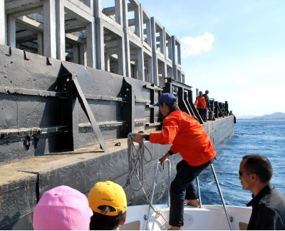 New artificial reef to be sunk off Phuket | The Thaiger