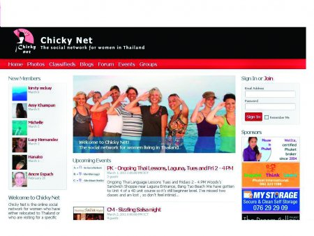 Rapid rise for Phuket's Chicky Net network   The Thaiger