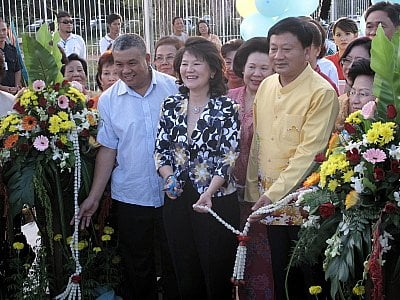 Parade marks opening of Bt50mn Phuket Town road   The Thaiger