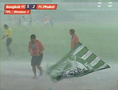 Did freak storm save FC Phuket's skin? | The Thaiger
