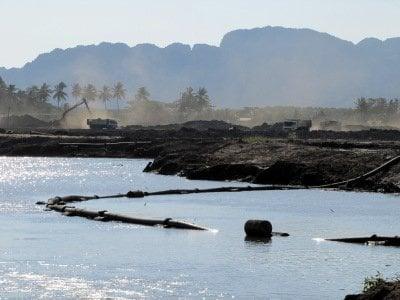 Work on Phuket's rival marina in Krabi well underway | The Thaiger