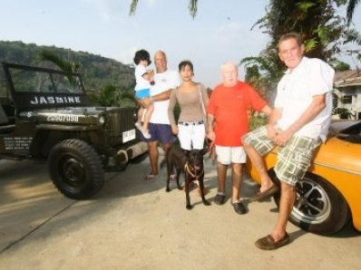 Join Phuket's grumpy men on their rally for a cause | The Thaiger