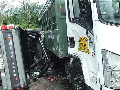 Brake failure, overloading cause Phuket hill crash: DDPM | The Thaiger