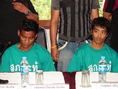 Phuket murder suspects arrested in Nongkhai | The Thaiger