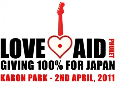 """""""LOVE AID – To Japan From Phuket With Love' benefit concert scheduled 