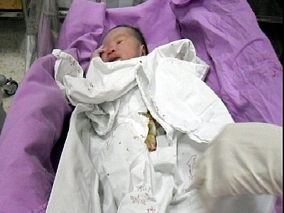 Phuket baby saved from trash pile   The Thaiger