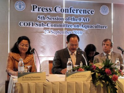 "UNFAO hopes for ""Phuket Agreement"" on aquaculture 