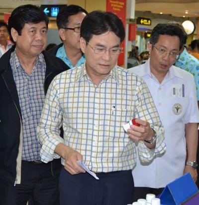 Thai Health Minister Jurin in Phuket   The Thaiger