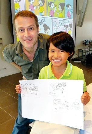 Pencilling humor into Phuket people's lives   The Thaiger