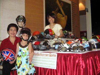 Kids' crash helmets selling like hot cakes in Phuket | Thaiger
