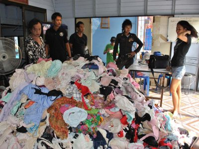 Thai police pounce on prolific panty perv | The Thaiger
