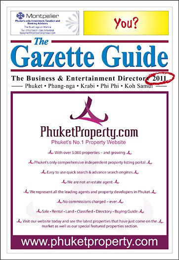 Deadline for Phuket 'yellow pages' | The Thaiger