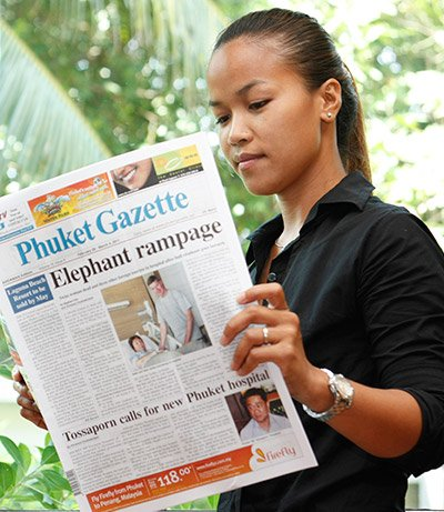 Here comes the weekend: Phuket Gazette hits the streets | The Thaiger