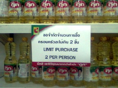 Cooking oil rations hit Phuket | The Thaiger