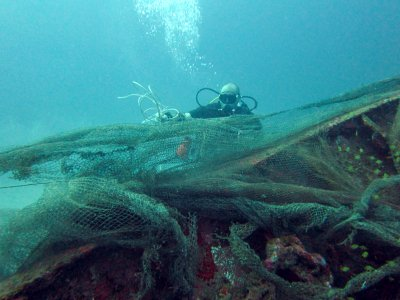 Scuba Cat team rakes in marine debris off Phuket | The Thaiger