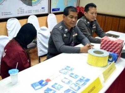 Woman arrested after stashing ya bah pills near Phuket school | The Thaiger