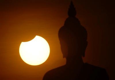 Partial solar eclipse in Phuket on Wednesday | The Thaiger