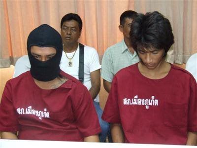 Phuket Police nab cell phone bandits   The Thaiger