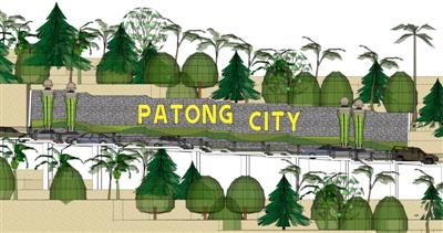 Phuket Poll: Patong City sign | The Thaiger