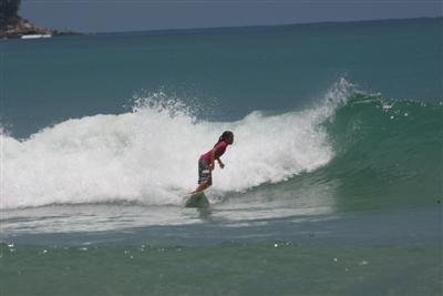 Annissa Flynn wins surf titles in Kamala, Phuket | The Thaiger