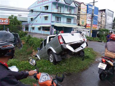 Five vehicle pile-up in Phuket | The Thaiger