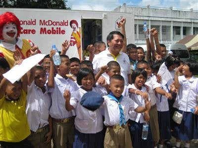 Phuket kids eyed by Ronald McDonald clinic | The Thaiger