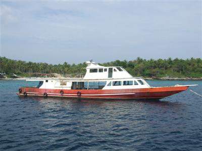 Dive boat sunk for Phuket artificial reef project | Thaiger