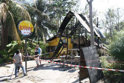 Phuket bar destroyed in arson attack | The Thaiger