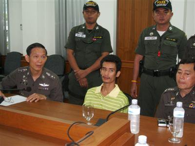 Phuket toy boy murder suspect: 'I acted alone'   The Thaiger
