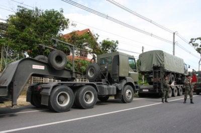 Asean meetings: Thai Army rolls onto Phuket | The Thaiger