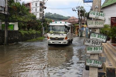 Phuket property developer blamed for flooding | The Thaiger