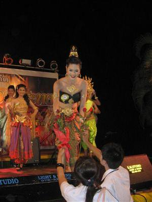 'Nong Peach' top ladyboy at Phuket Rajabhat | The Thaiger