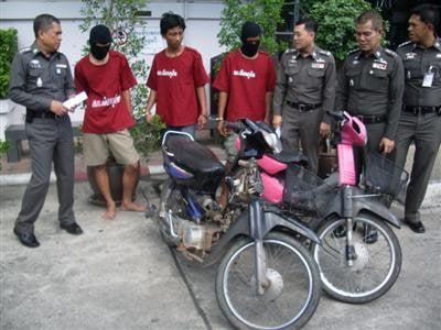 Phuket City police nab thieving teens   The Thaiger
