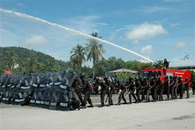 Phuket Police train for Asean summit | The Thaiger