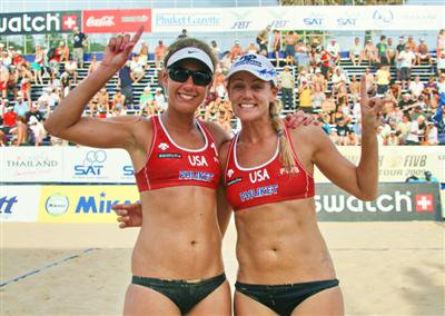 Americans cash in on Phuket volleyball win | The Thaiger