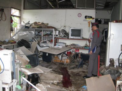 Man loses leg in Phuket shophouse explosion | The Thaiger
