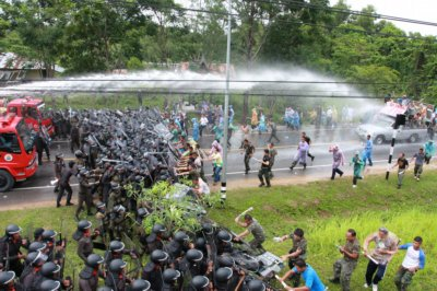 Phuket practices for protests | The Thaiger