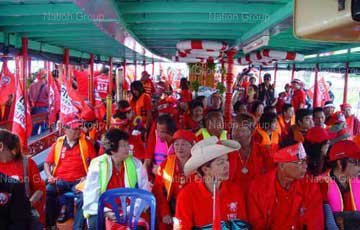 Phuket red shirts determined to succeed | Thaiger