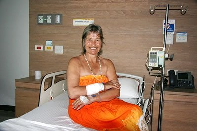 British woman survives macaque attack during Phuket holiday | The Thaiger