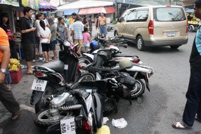 Wild car crash in Phuket Town | The Thaiger