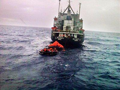 Andaman Sea storms sink Thai bulk-carrier | The Thaiger