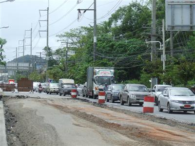 Thepkrasattri Road in Phuket gets a facelift | The Thaiger