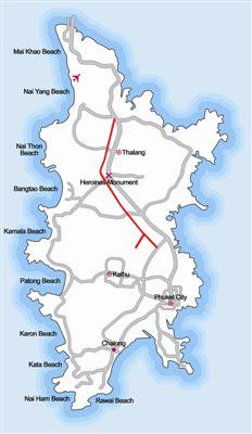 Second Phuket Airport road a top priority   The Thaiger