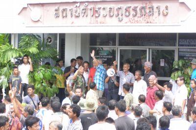 Phuket road blockade over Islamic cemetery | The Thaiger